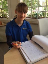 Frau Lemke - unsere neue Stimme am Telefon